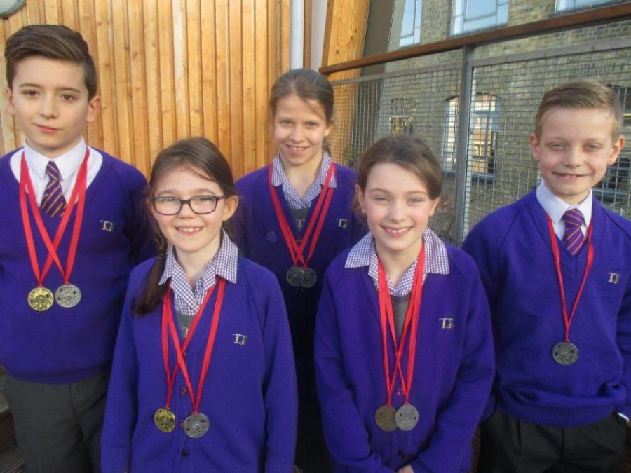 TGS swimmers ISA swimming finalists 2017