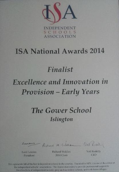 ISI_Early_Years_Award_2014