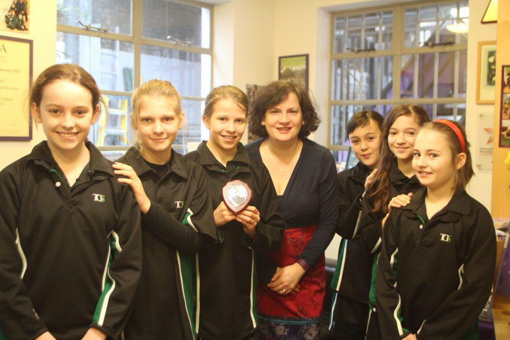 TGS Girls ISA Football Squad