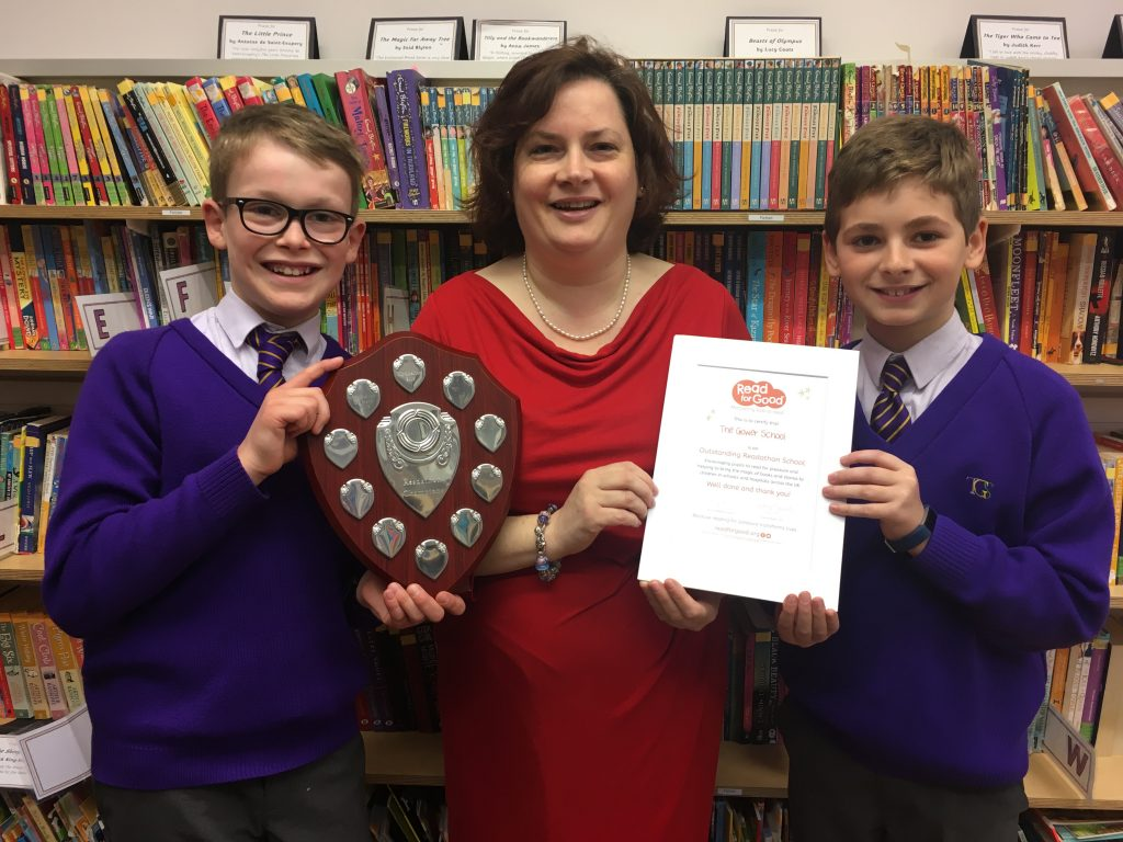 Readathon Winners 2020 With Miss Gowers 2