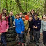 Form Six enjoy Bushcraft camping trip
