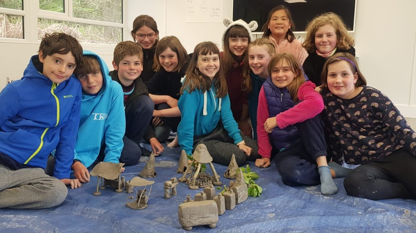 The Gower School children enjoy camping trip at Cuffley Activity Centre, Hertfordshire